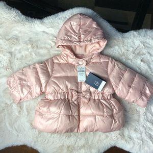 NWT Gap Baby Girl Fleeced Lined Coat